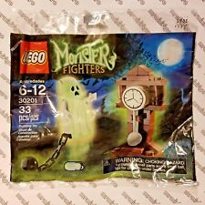 "LEGO Monster Fighters #30201 - ""GHOST & GRANDFATHER CLOCK"" Polybag - Retired New"
