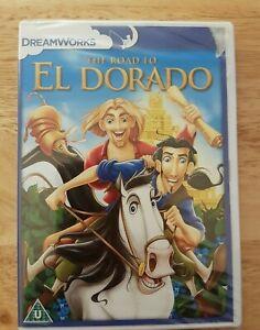 Ref 1492 - NEW & SEALED, The Road To El Dorado DVD - Children's / Family Film