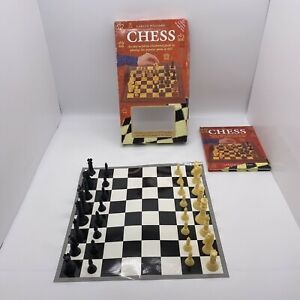 Chess Set Board & Book Learn To Play This Popular Game Of Skill Gareth Williams