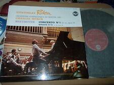 BEETHOVEN: Piano concerto n°1 + sonata n°22 > Richter Boston Munch / RCA stereo