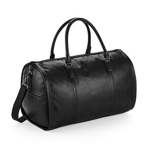 QUADRA NuHide Garment Weekender Leather Look Business Corporate Holdall QD880