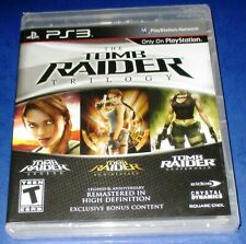 The Tomb Raider: Trilogy Ps3 *New! *Factory Sealed! *Free Shipping!
