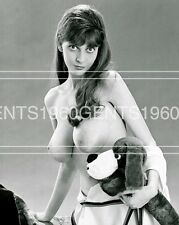 BUSTY BIG BREASTS NUDE JANICE ORAMES 1960s PINUP 8X10 PHOTO FROM ORIGINAL NEG-2