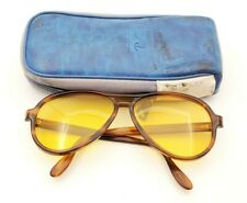 Vintage B&L Ray Ban Bausch & Lomb Ambermatic Tortuga Vagabond 58mm w/Case