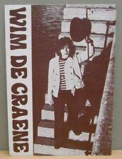 1x Promo card : Wim de Craene - MCA records - Inelco Belgium 60/70's (08961)