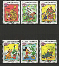 Walt Disney Turks & Caicos Islands 6 timbres neufs Chrismas 1983 /T3470