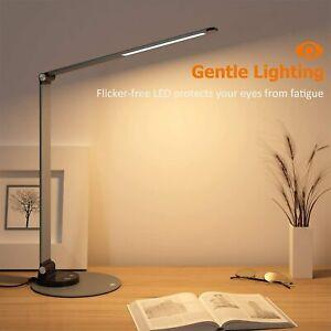 TaoTronics DL22 Lamp Aluminum Alloy Dimmable LED Desk Lamp 3 Color Modes LED32