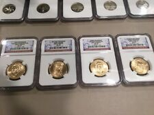 ✯ESTATE SALE LOT ✯NGC SLABED 2007 GOLDEN DOLLARS FIRST FOUR PRESIDE✯ ONE COIN