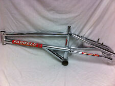 SUPER RARE Chrome 1995 FABWELD FW-01 ASYMMETRICAL CR-MO FRAME Mid School BMX