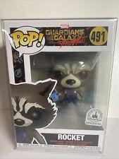 Funko Pop! Marvel - GOTG - Rocket Raccoon # 491 - Disney Parks Exclusive