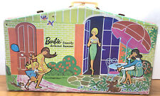 Vintage Mattel 1958 Barbie Deluxe Family House Carrying Case Storage Ken/Barbie