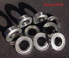 10x 61802 rodamientos de bolas ZZ/6802 ZZ 15x24x5 mm Precision bearing 15 x 24 x 5 mm