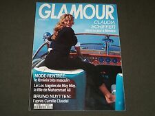 1992 SEPTEMBER GLAMOUR FRENCH MAGAZINE - CLAUDIA SCHIFFER COVER - O 7141