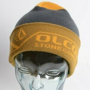 2021 NWT VOLCOM RADONNA BEANIE $28 OS Resin Gold standard roll over fit