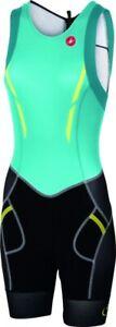 Castelli Free ITU Damen Tri Suit Gr.M Schwarz/Grün