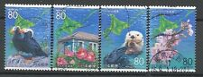 ˳˳ ҉ ˳˳R670 Japan Prefectural Nature in Hokkaido 2005 Animals complete set 日本