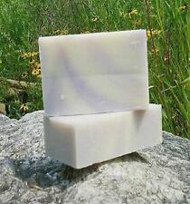 Vermont Organic Soap LAVENDER SWIRL 6 - Bar pre-cut Brick Cold-Press Made IN USA