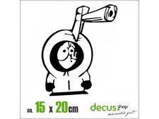 Kenny Hache XL 2089 // sticker JDM Autocollant Vitre Frontale