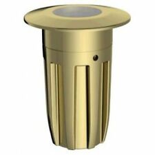 Brass Corded Mains LED Outdoor Lighting