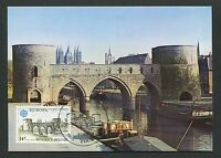 BELGIEN MK 1978 EUROPA CEPT TOURNAI MAXIMUMKARTE CARTE MAXIMUM CARD MC CM d3504