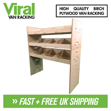 Fiat Doblo 2010+ Van Racking 3-Shelf Plywood Racking & Shelving 1000 x 384