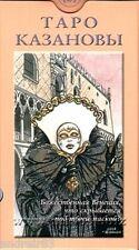 Tarot Cards of Casanova 78 cards + instruction Taro TC81 Rare Taro Oracul Magic