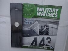 Eaglemoss Military Watches-AMERICANO AIRMAN anni 1940 WW2 Orologio Issue 76 USATO