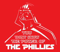 Darth Vader Philadelphia Phillies shirt Philly Baseball Star Wars Bryce Harper