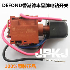 1pc Defond EGA-1115A Power Trigger Switch With Wires For Electric Tools