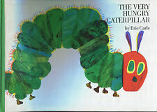 The Very Hungry Caterpillar by Eric Carle Board Book Braille Text