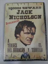 ATTRAVERSO DEL URAGANO + IL TIRO DVD JACK NICHOLSON SPAGNOLO ENGLISH NEW NUOVA
