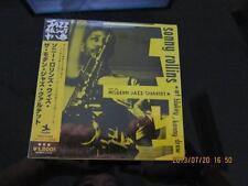 SONNY ROLLINS with the MODERN JAZZ QUARTET JAPAN MINI LP CD ART BLAKEY SEALED