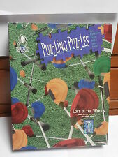 "Puzzle ""Lost in the Woods"" PUZZLING PUZZLES  750+5  pz NEW   61 X 61 CM  1994"