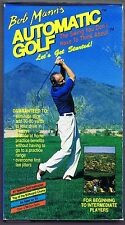 BOB MANN'S AUTOMATIC GOLF - LET'S GET STARTED (1990 VHS)