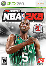 NBA 2K9 (Microsoft Xbox 360, 2008) Game Disc Only