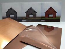 Copper Sheet 16oz 24 Gauge Copper Sheet Bright Polished 8x8