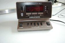 Vintage culto radio despertador, radio-despertador, 80 ergrundig sono Clock 450