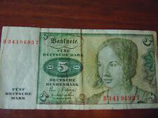 5 DM Schein 2.1.1980