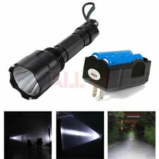 Camping & Hiking Flashlight Chargers with 2 Batteries