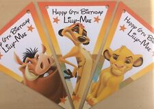 Handmade Personalised lion King bunting / party decoration / birthday