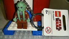 Lego Star Wars Kit Fisto Jedi Knight Key Chain Figure