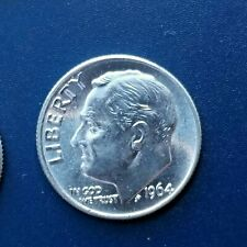 1964-P Roosevelt Dime *Bu - Brilliant Uncirculated* *Free Shipping*