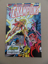 Champions 3 . Vs Flare . Hero Comics 1987 . VF