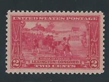 US Scott #618 Mint OG NH XF-SUP Lexington-Concord Issue