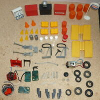 Vintage Scalextric Accessories Job Lot with spares
