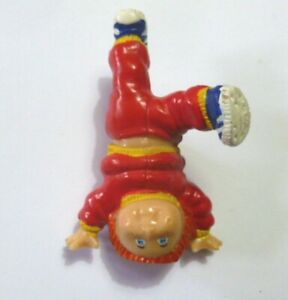 CABBAGE PATCH KIDS personaggio pvc 6 cm - VERTICALE ROSSO (Hong Kong 1984) 03.