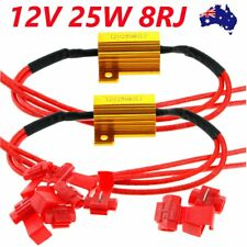 Universal 2x 12V Motorcycle LED Indicator Flash Rate 25W Relay Load Resistor