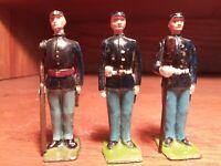 Rare Vintage Britains Toy Soldiers Civil War Union Artillery 2 figures + bonus