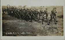 B Battery RHA Royal Horse Artillery on the march at Lydd 1910