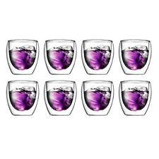 Bodum Pavina Set of 8 250 Ml Double Wall Glasses RRP $79.99